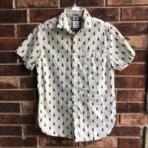 Cactus Man Shirts Slim Fit Button Pineapple Shirt Men Sm Poshmark